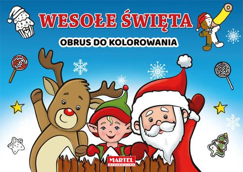 okładka Wesołe święta, Książka | Aleksandra Adamska-Rzepka, Krzemień-Przedwols