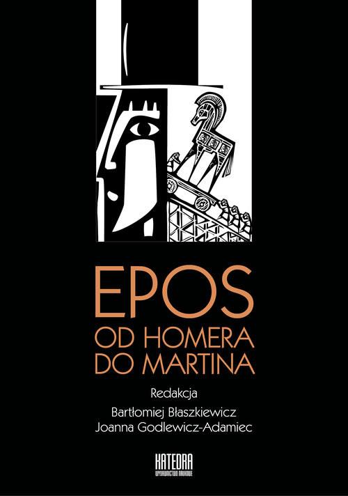 okładka Epos od Homera do Martina, Książka |