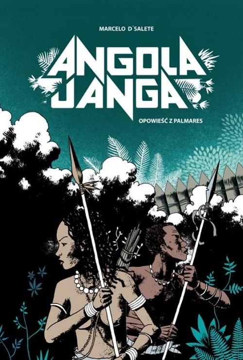 okładka Angola Janga, Książka | D'Salete Marcelo