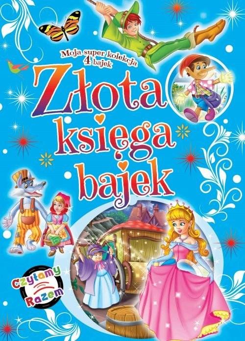 okładka Złota księga bajek, Książka  