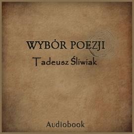 okładka Wybór poezji, Audiobook   Śliwiak Tadeusz