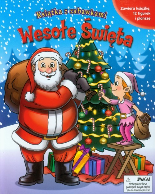 okładka Wesołe Święta Książka z zabawkami, Książka | Fucci Emma