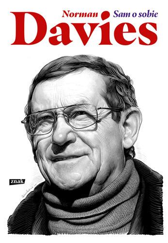 okładka Norman Davies. Sam o sobie, Książka | Davies Norman