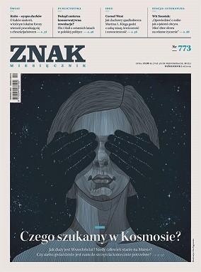 okładka ZNAK 773 10/2019: Czego szukamy w Kosmosie?, Książka |
