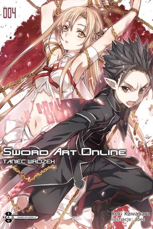 okładka Sword Art Online #04 Taniec Wróżek, Książka | Kawahara Reki