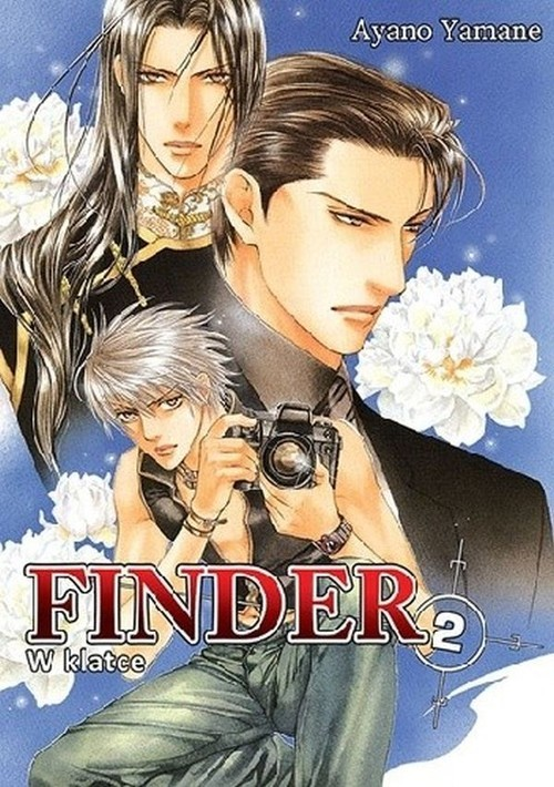 okładka Finder #02 W klatce, Książka | Yamane Ayano