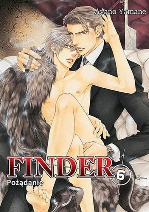 okładka Finder #06 Pożądanie, Książka | Yamane Ayano