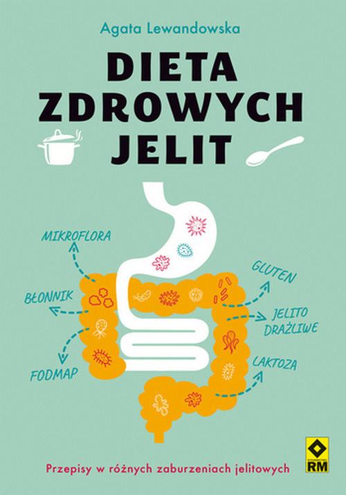 okładka Dieta zdrowych jelit, Książka | Lewandowska Agata
