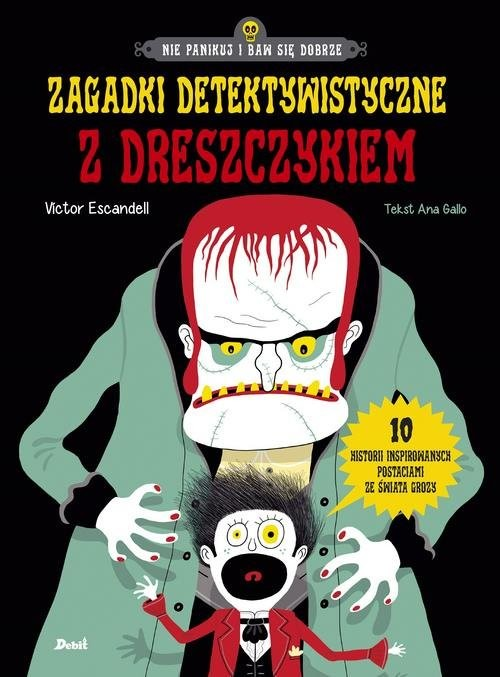 okładka Zagadki detektywistyczne z dreszczykiem, Książka | Victor Escandell, Ana Gallo
