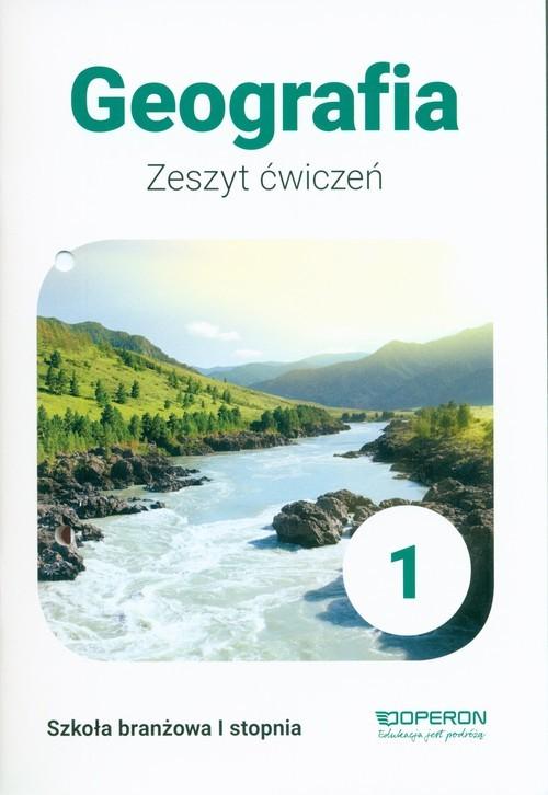 okładka Geografia 1 Zeszyt ćwiczeńksiążka      Kurek Sławomir