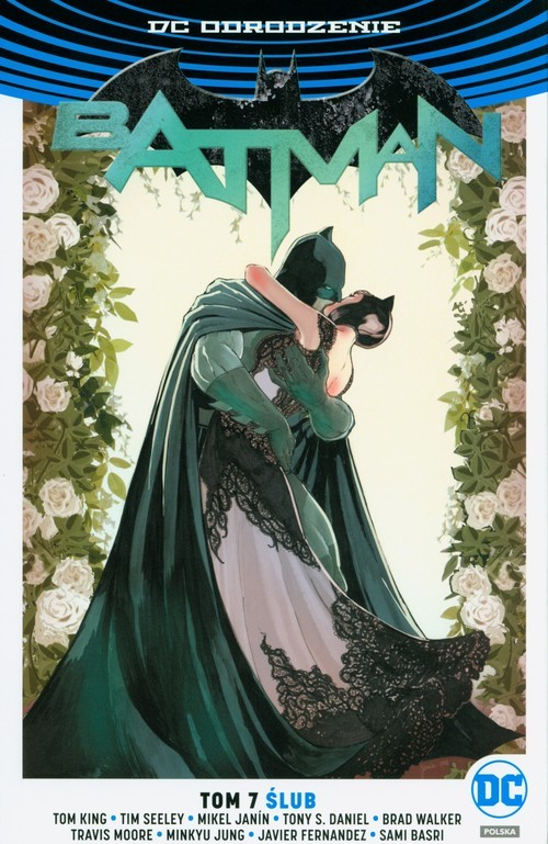 okładka Batman Tom 7 Ślub, Książka | Tom King, Tim Seeley