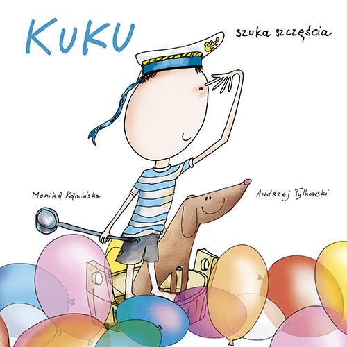 okładka Kuku szuka szczęścia, Książka | Kamińska Monika