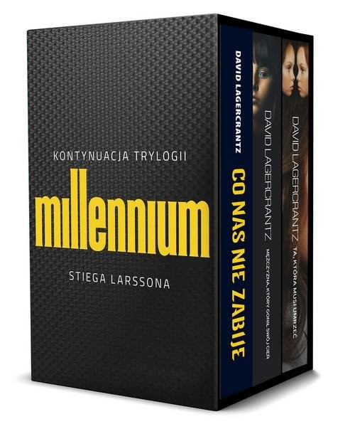 okładka Pakiet Millennium David Lagercrantz, Książka | David Lagerkrantz