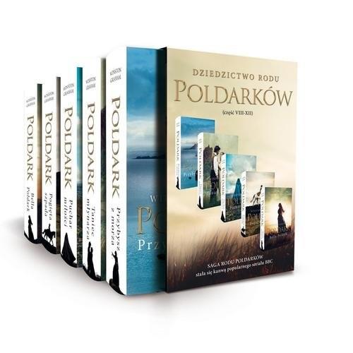 okładka Pakiet Poldark Część 8-12, Książka | Winston Graham
