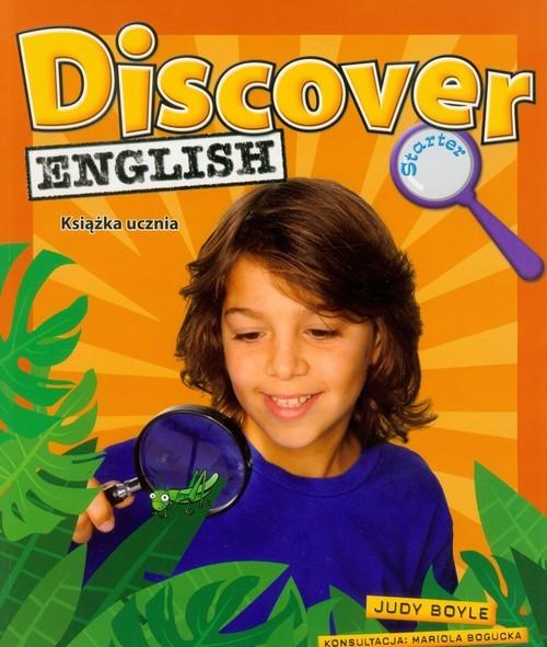 okładka Discover English Starter Książka ucznia Szkoła podstawowa, Książka | Judy Boyle, Mariola Bogucka
