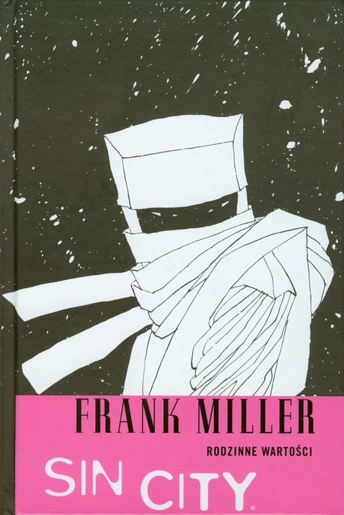 okładka Sin City Rodzinne wartości Komiks, Książka | Miller Frank