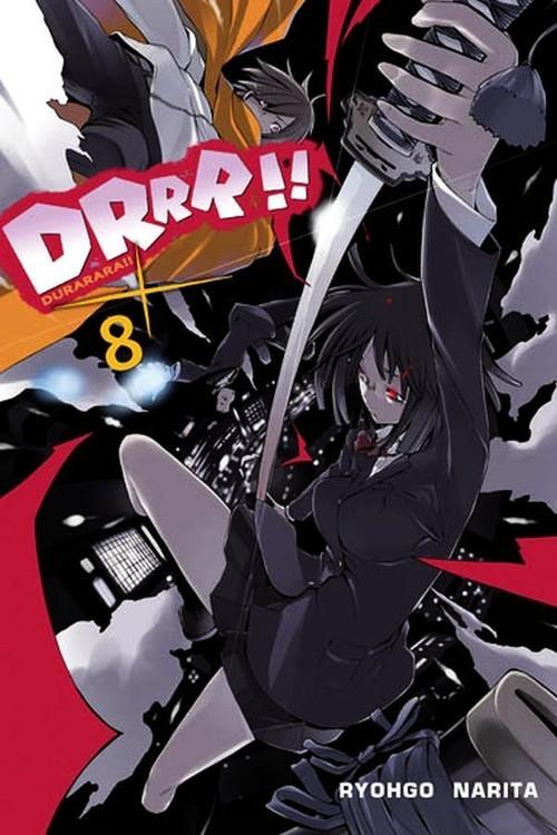 okładka Durarara!! #08książka      Narita Ryohgo