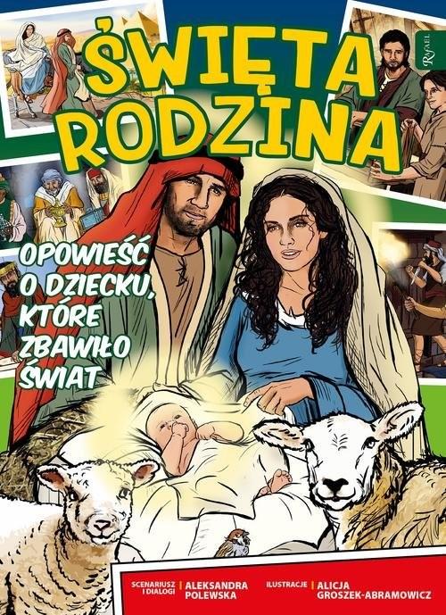 okładka Komiks Święta Rodzina, Książka | Polewska Aleksandra