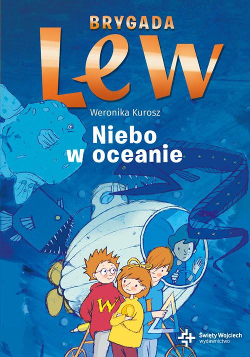 okładka Niebo w oceanie, Książka | Kurosz Weronika