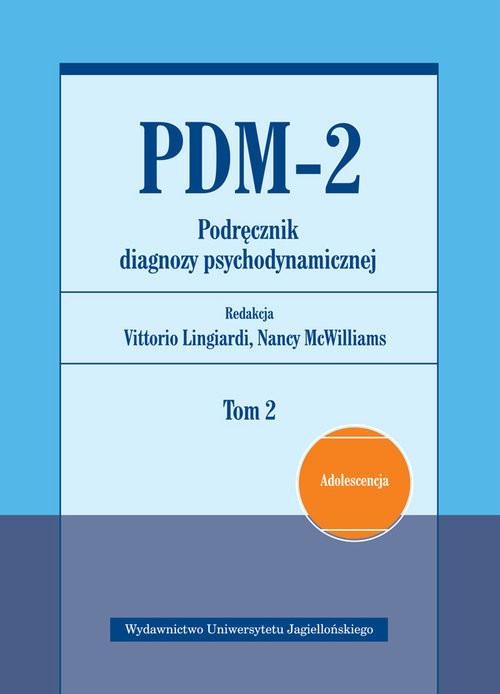 okładka PDM-2 Podręcznik diagnozy psychodynamicznej Tom 2, Książka |