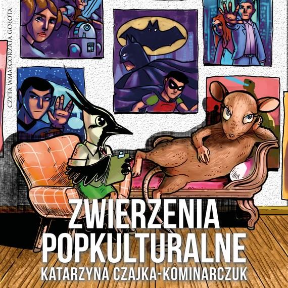 okładka Zwierzenia popkulturalne, Audiobook | Katarzyna Czajka-Kominiarczuk