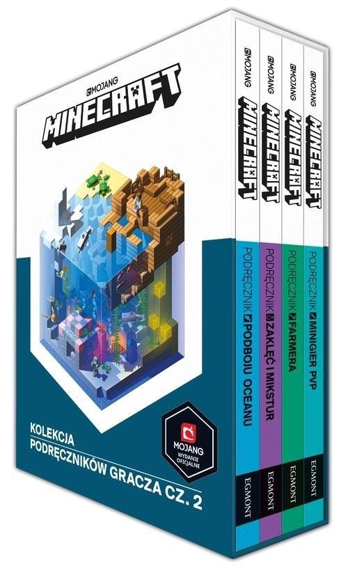 okładka Minecraft Kolekcja podręczników gracza Część 2, Książka | Stephanie Milton, Alex Wiltshire, Crai Jelley