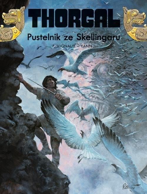 okładka Thorgal Pustelnik ze Skellingaru, Książka | Yann le Pennetier