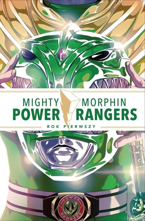 okładka Mighty Morphin Power Rangers Rok pierwszy, Książka | Kyle Higgins, Steve Orlando, Mairghread Scott