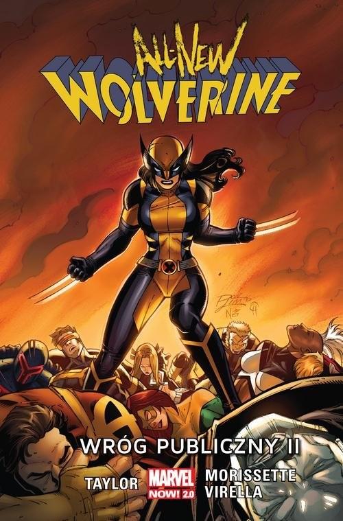 okładka All-New Wolverine Wróg publiczny, Książka | Taylor Tom