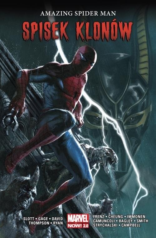 okładka Amazing Spider Man Tom 5 Spisek klonówksiążka |  | Dan Slott, Christos Gage, Peter David, Thomps