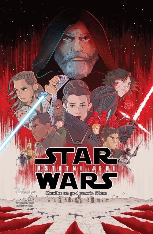 okładka Star Wars Ostatni Jedi, Książka | Alessandro Ferrari