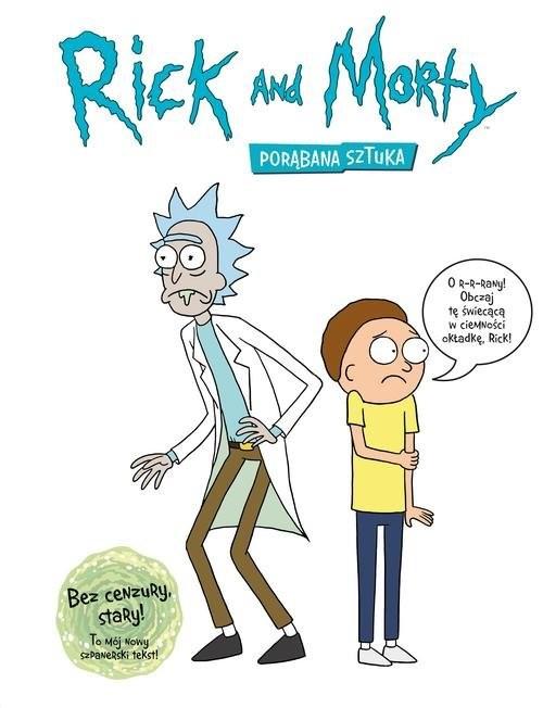 okładka Rick i Morty Encyklopedia, Książka | James Siciliano, Justin Roiland