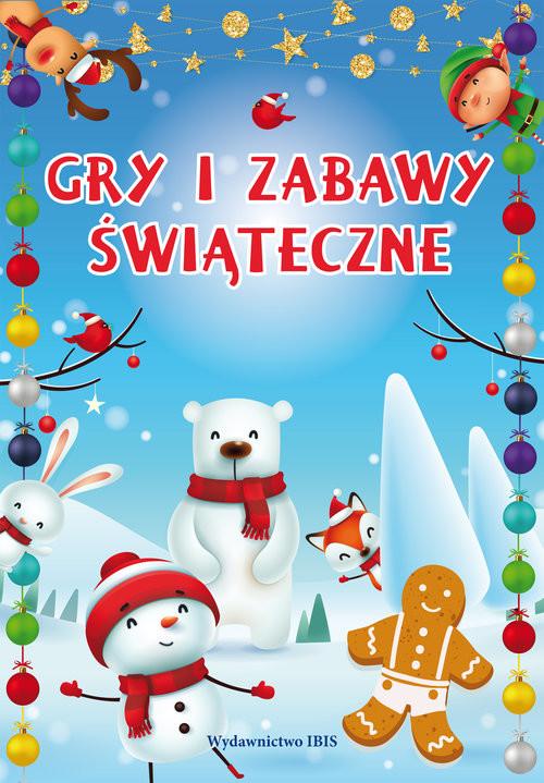 okładka Gry i zabawy świąteczneksiążka     