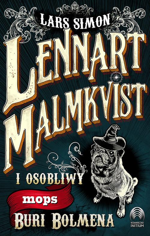 okładka Lennart Malmkvist i osobliwy mops Buri Bolmena, Książka | Simon Lars