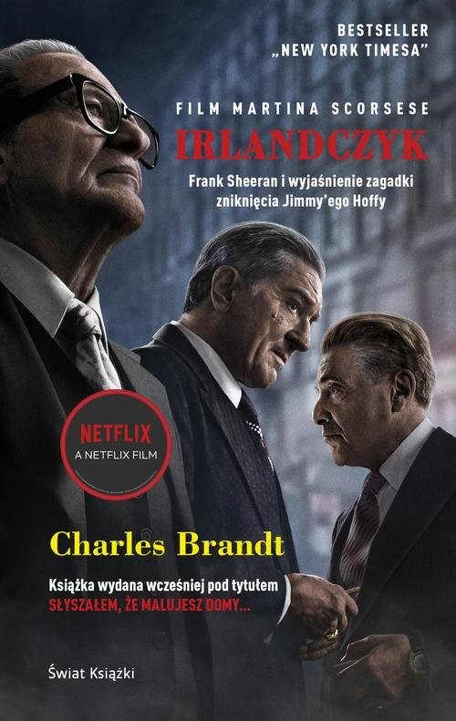 okładka Irlandczyk, Książka | Brandt Charles