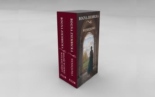 okładka Pakiet: Miłość w cieniu wielkiej wojny / Wenecjanka, Książka   Ziembicka Bogna