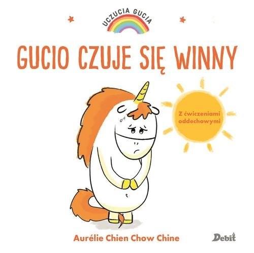 okładka Uczucia Gucia Gucio czuje sie winny, Książka   Aurelie Chine, Chow Chien