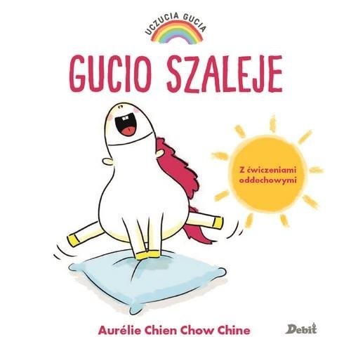 okładka Uczucia Gucia Gucio szaleje, Książka   Aurelie Chine, Chow Chien