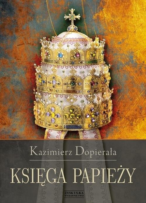 okładka Księga papieży, Książka | Dopierała Kazimierz