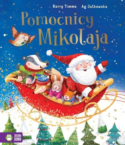 okładka Pomocnicy Mikołaja, Książka | Timms Barry
