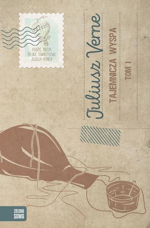 okładka Tajemnicza wyspa Tom 1, Książka | Verne Juliusz