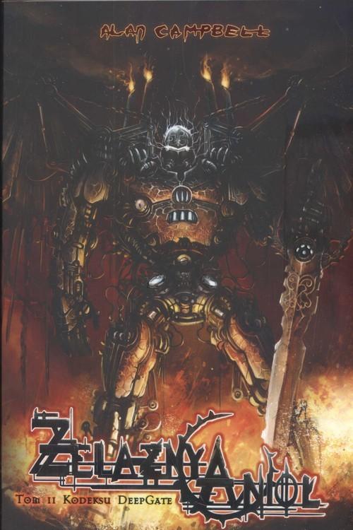 okładka Żelazny anioł Tom II Kodeksu DeepGate, Książka   Campbell Alan