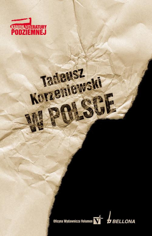okładka W Polsce, Książka   Korzeniewski Tadeusz