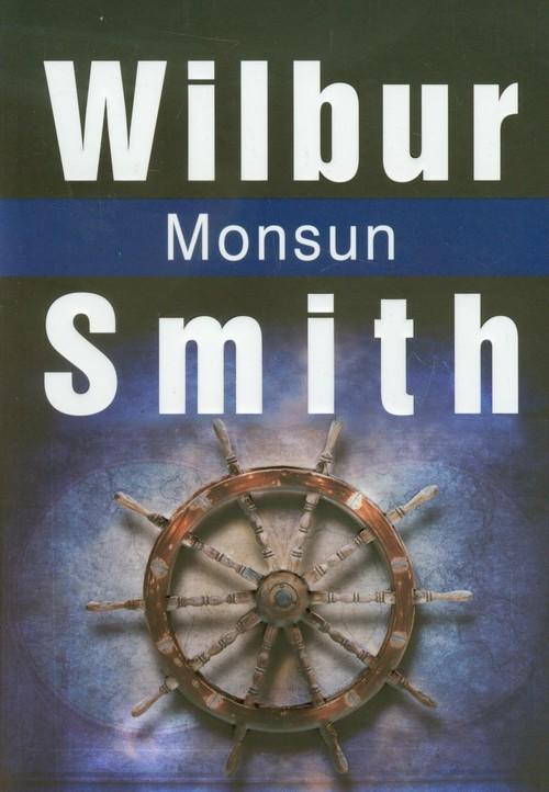 okładka Monsun, Książka   Wilbur Smith