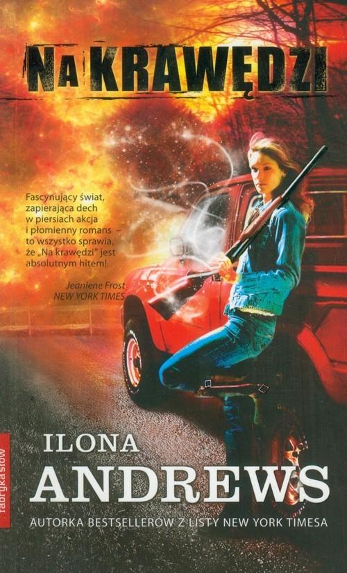 okładka Na krawędzi, Książka | Andrews Ilona
