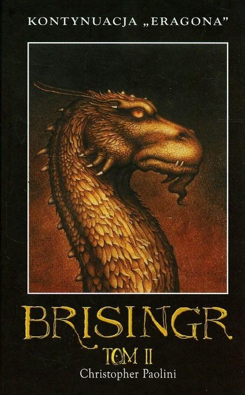okładka Brisingr Tom 2 Księga 3, Książka   Paolini Christopher