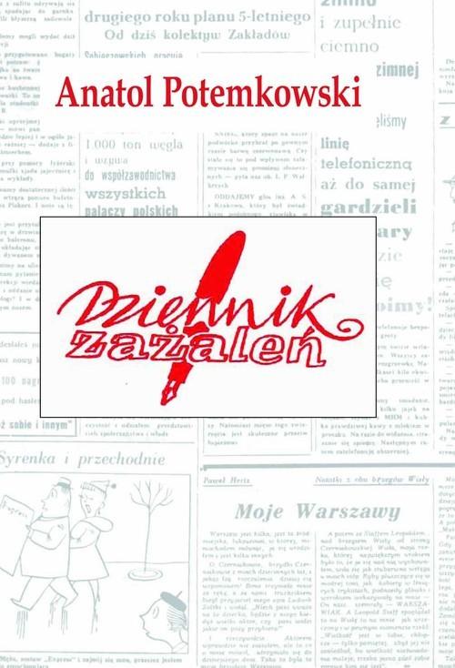 okładka Dziennik zażaleń, Książka | Potemkowski Anatol