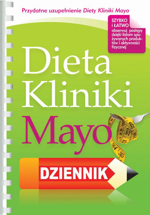 okładka Dieta Kliniki Mayo Dziennik, Książka |