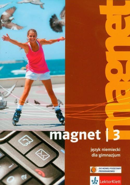 okładka Magnet 3 Język niemiecki Podręcznik z płytą CD Gimnazjum, Książka | Motta Giorgio