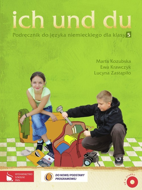 okładka Ich und du 5 Podręcznik z płytą CD szkoła podstawowa, Książka | Marta Kozubska, Ewa Krawczyk, Lucyn Zastąpiło